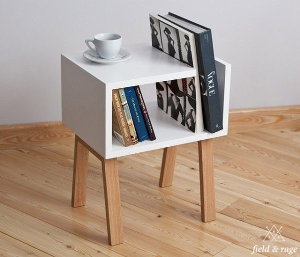 Uno Bedside Table & Bookshelf by Field & Rage. - Best 25+ Small Bookshelf Ideas Only On Pinterest Bedroom