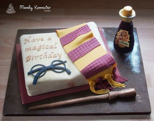 pastel harry potter 7 | Blog Hogwarts: todo sobre Harry Potter