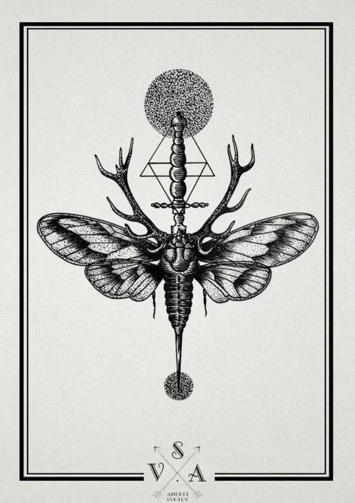 moth sternum tattoo - Google-Suche