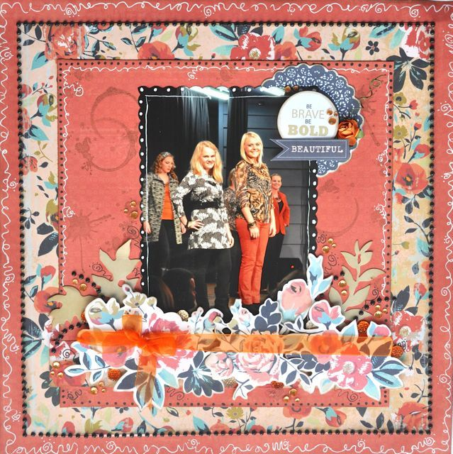 Made using the Blubelle Collection from Kaisercraft By Kelly-ann Oosterbeek.