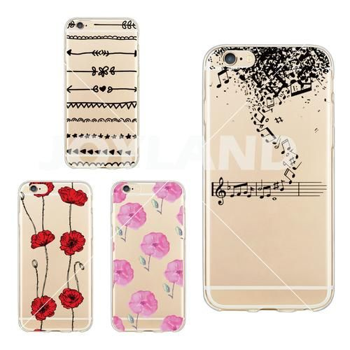 Music Note Silicon Soft Cell Phone Case Protector Back Cover For iphone