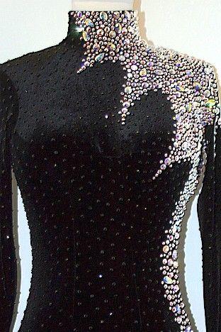 DR106 - Rhythmic Rentals - Ballroom Dress Rental