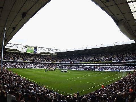 White Hart Lane London. Went to London 1998. Saw Tottenham Hotspurs vs Newcastle 2-0. With Erik, Einar and Hege