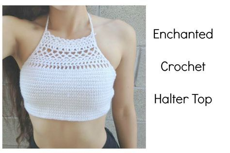 DIY Crochet Top: The Enchanted Halter I am Krystal Everdeen! For those of you who are subscribed to me and thought that this channel was stealing my videos.....