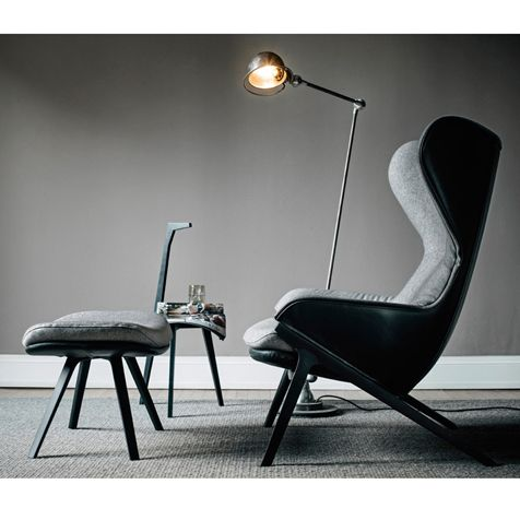 Cassina P22 wingback chair, 2013 Patrick Norguet.