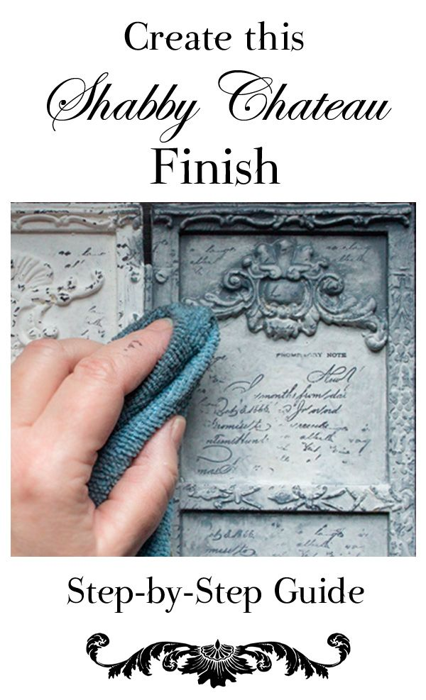 If you want to create a Shabby Chateau Finish, you now have an amazing set of tools at your beck and call…  Hello, Iron Orchid Design friends – Heather here, from Thicketworks. I'm excited to share this simple method to transform a shabby old accessory into a fabulous Shabby Chateau Treasure! #DIY