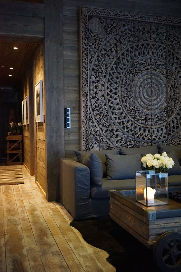 Best 25 carved wood wall art ideas on pinterest - Lodge living room decorating ideas ...