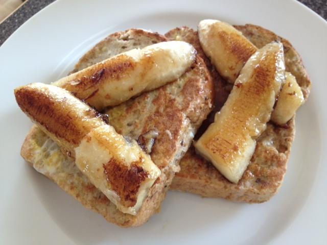 Caramelized Banana French Toast | Caramelicious ♥ France | Pinterest