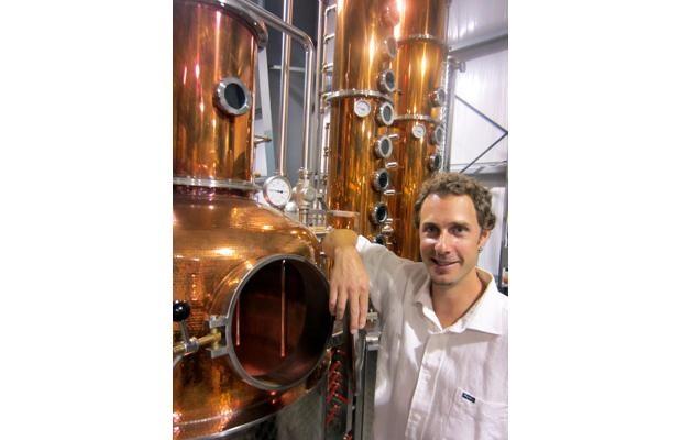 Pemberton master distiller Tyler Schramm's certified organic potato-based vodka, gin and whisky is receiving worldwide recognition.