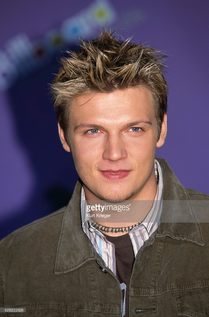 Singer Nick Carter of the Backstreet Boys attends the 2003 Billboard Music Awards at the MGM Grand in Las Vegas.