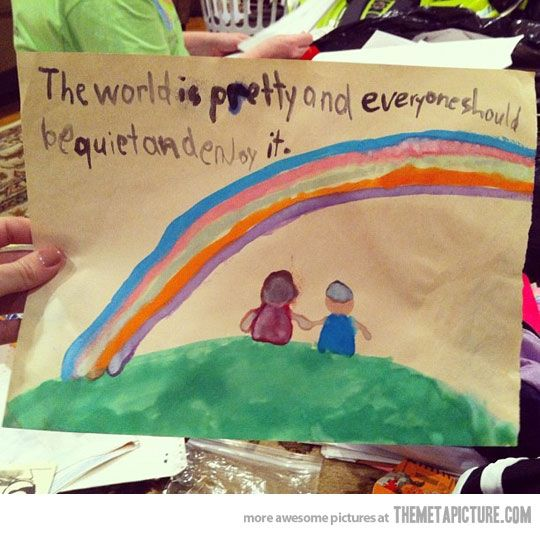 the world is prettyWords Of Wisdom, True Words, Smart Kids, 5 Years, Wise Words, First Grade, Pictures Quotes, True Stories, 1St Grade