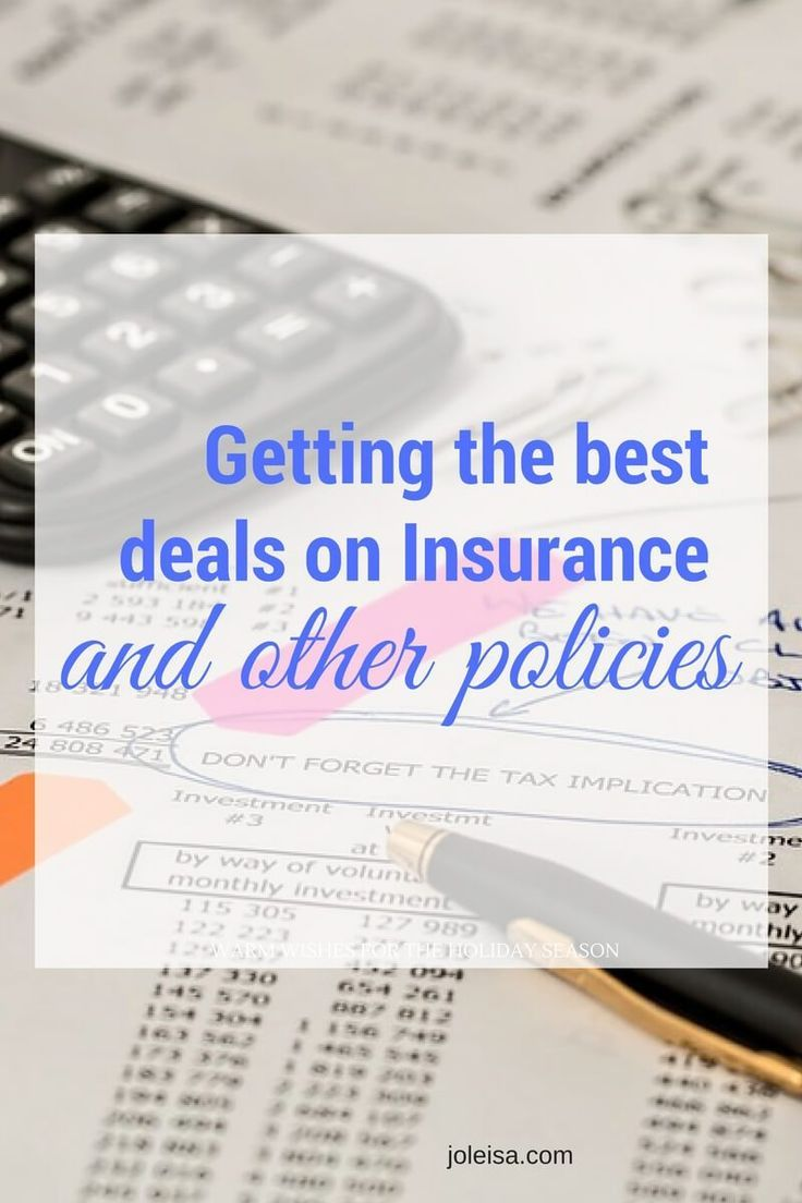 Save money when renewing insurance and other policies