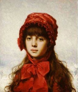 Alexei Alexeievich Harlamoff - The Red Bonnet