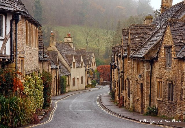 'The Prettiest Village in England' ... Castle Combe, Wiltshire England. I need to visit here before I die.