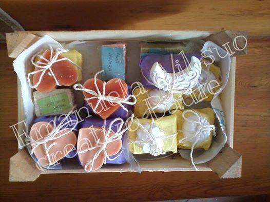 idee regalo saponi gessetti e candele