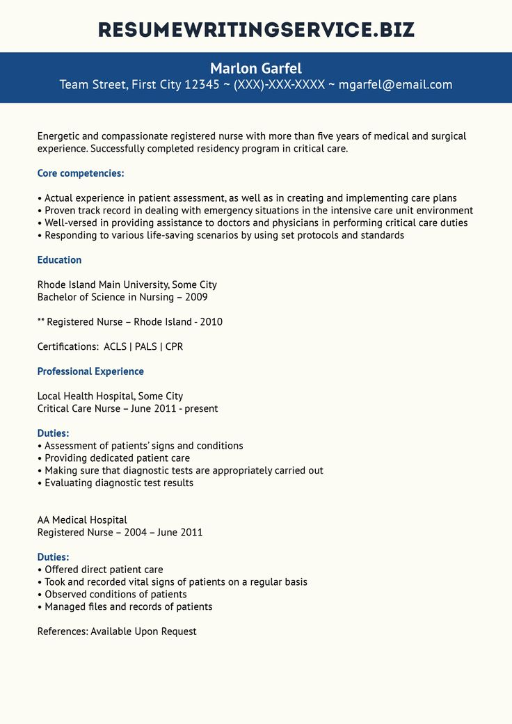 206 best images about job on Pinterest - critical care nurse sample resume