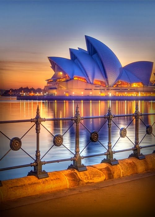 Sydney Opera House, featured on our Australia & the Ghan rail tour https://www.greatrail.com/tours/australia-and-the-ghan-/