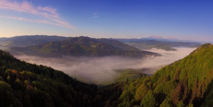 Vysoké Tatry z Pienin