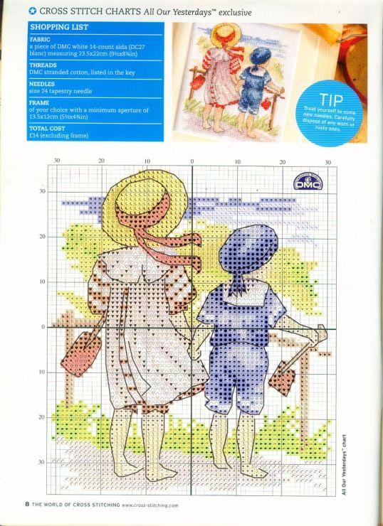 Gallery.ru / Фото #7 - The world of cross stitching 097 май 2005 - WhiteAngel
