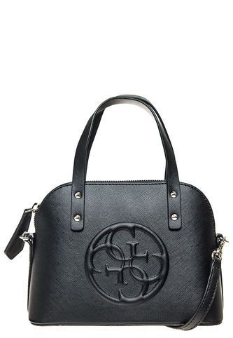 Cartera KORRY PETITE DOME SATCHEL Negra Guess Guess