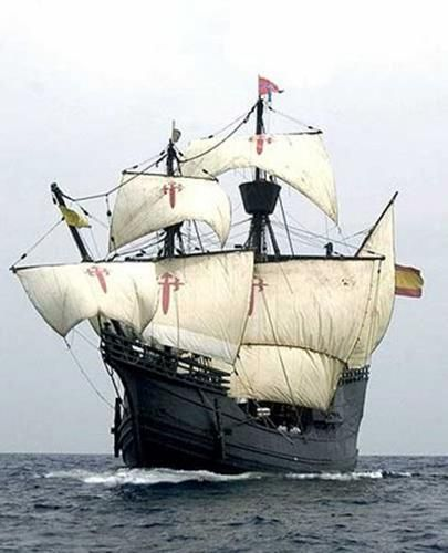 Tall Ship Nao Victoria arrives on Fort Myers Beach. The Nao Victoria was a Spanish carrack and the first ship to successfully circumnavigate the world. Public tours will begin on February 13, 2014. #fortmyersbeach #beachvacation