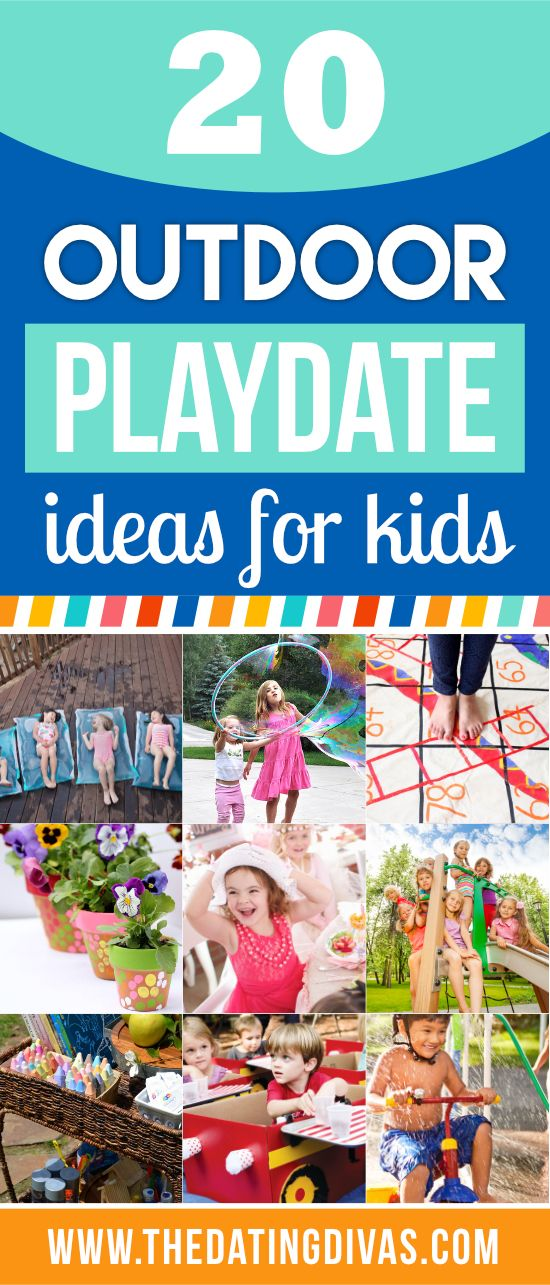 The BEST Fun, Outdoor Playdate Ideas for Kids all in one place!