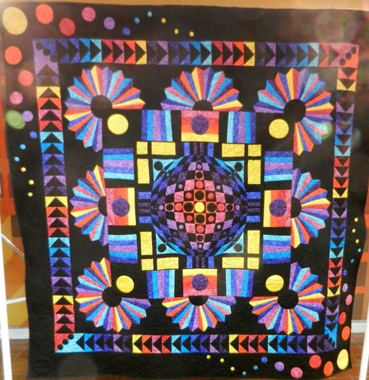 338 Best Images About Round Robin Or Medallion Quilts On