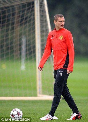 United skipper Nemanja Vidic