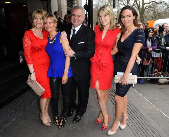 Isabel Webster Photos Photos - Charlotte Hawkins, Jacquie Beltrao, Eamonn Holmes, Isabel Webster and Ruth Langsford attend the 2014 TRIC Awards at The Grosvenor House Hotel on March 11, 2014 in London, England. - Arrivals at the TRIC Awards