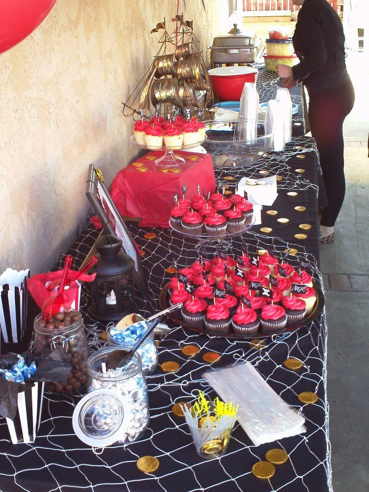 pirate party pirate baby shower