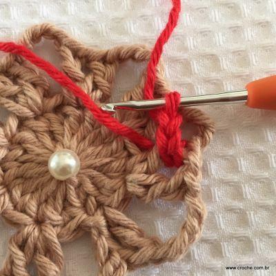 Flor coração passo a passo - croche.com (19)