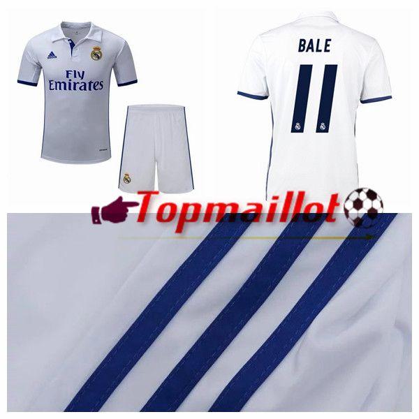 Le Maillot de Foot Real Madrid (BALE 11) Domicile 2016/2017