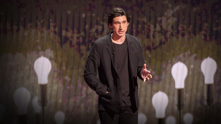 WATCH / Adam Driver Gives a TED Talk About His Challenging Journey From Being a Marine to Becoming an Actor