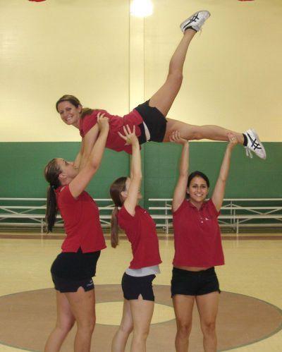 Cheerleading Info Center - Stunts