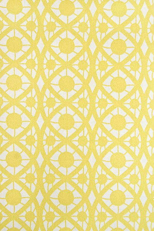 Lace wallpaper small design white wallpaper with yellow for Kitchen print wallpaper