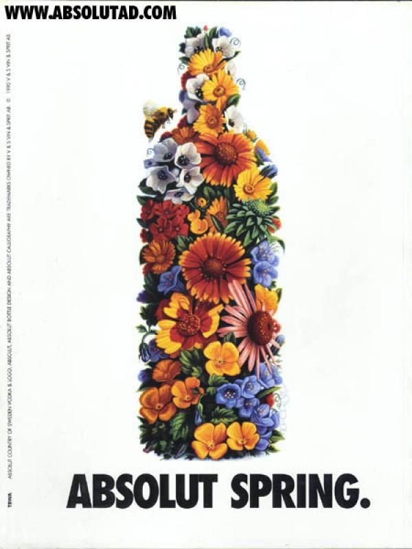 absolute spring vodka - Google Search