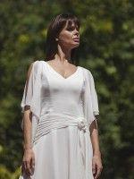 esküvői ruha muszlinból, muslin wedding dress.