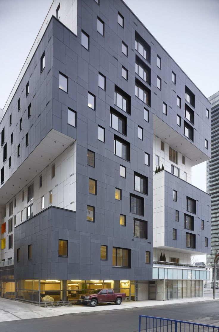60 Richmond Housing Cooperative, Toronto by Teeple Architects