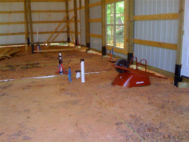 One Man + $80,000 = This Awesome 30 x 56 Metal Pole Barn Home! (25 Pics)   Metal…
