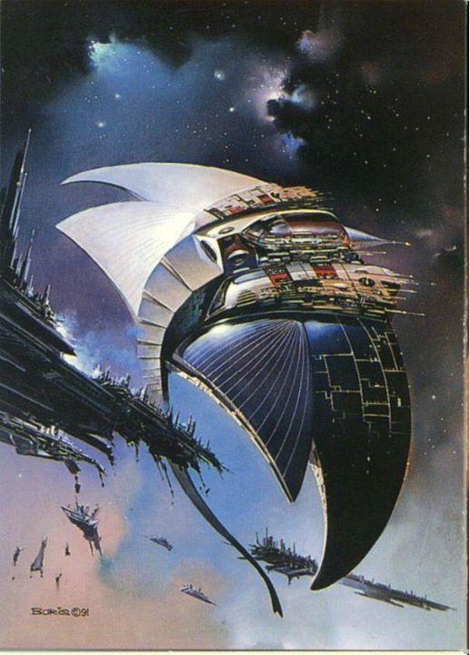 The Fleet by Boris Vallejo