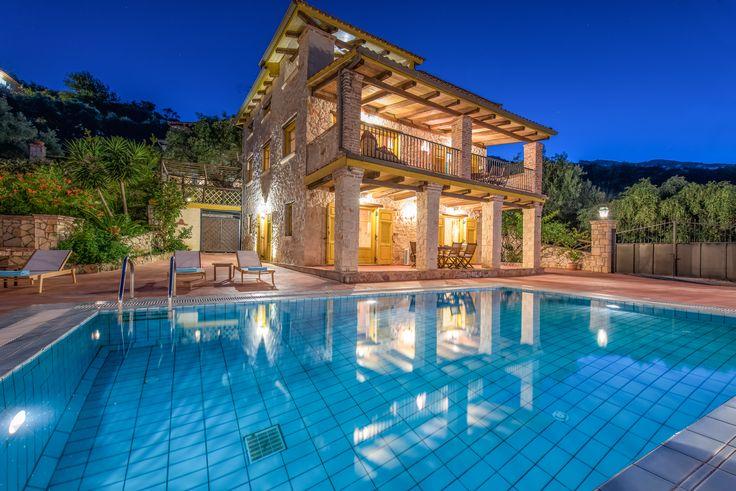 Villa Evi (Kioussi Zakynthos Villas) in Vasilikos Zakynthos Greece