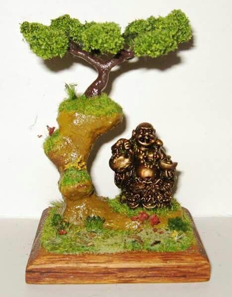 Diorama bonsai fantasy. 13