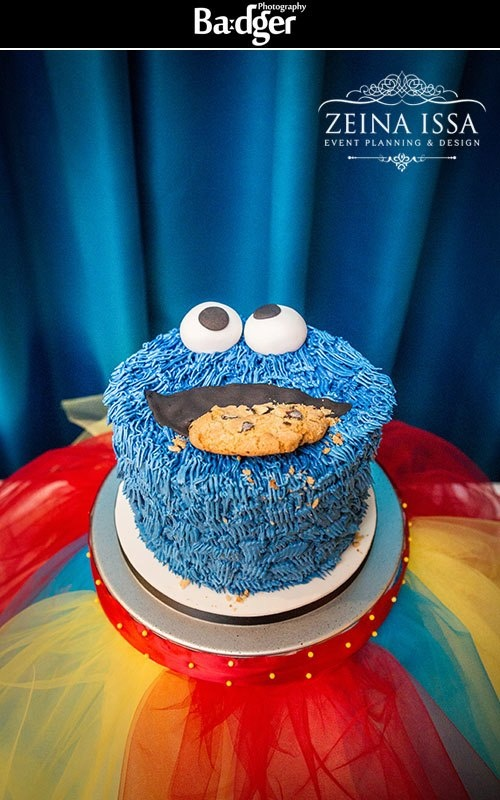 cookie monster cake 36 best sesame theme 1st birthday images on 3039