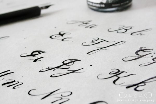 145 best images about faux calligraphy on pinterest Where to learn calligraphy