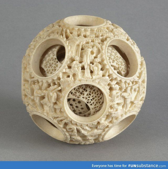 Reticulated ball from China, 19th century...amazing!!!!!!