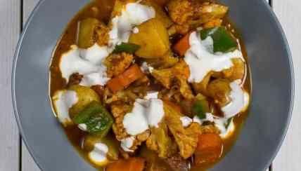Einfaches Indisches Gemüse Curry