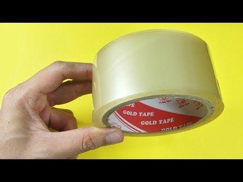 5 truques incríveis com fita adesiva que você deve saber - YouTube