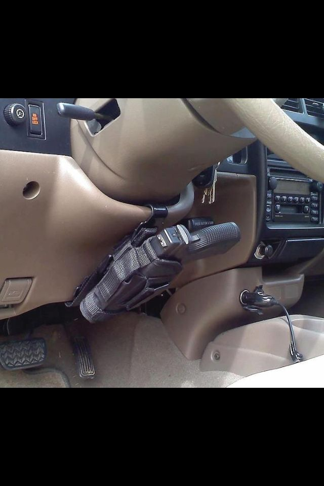 Concealed carry - I would love to have this in my car.