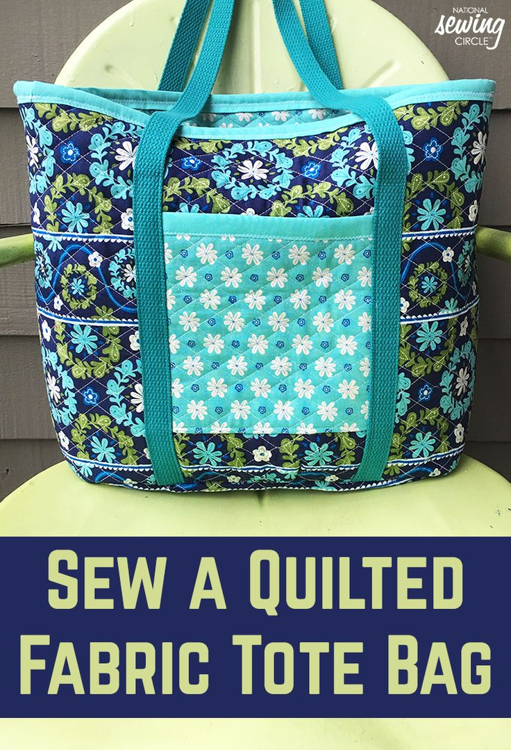 Pre-quilted bags can be found in designer stores everywhere. Why not make your own for a fraction of the cost? I personally have been coveting a quilted tote for a few years. I saw some pre-quilted fabric in the remnants bin and jumped at the chance to finally create my own!