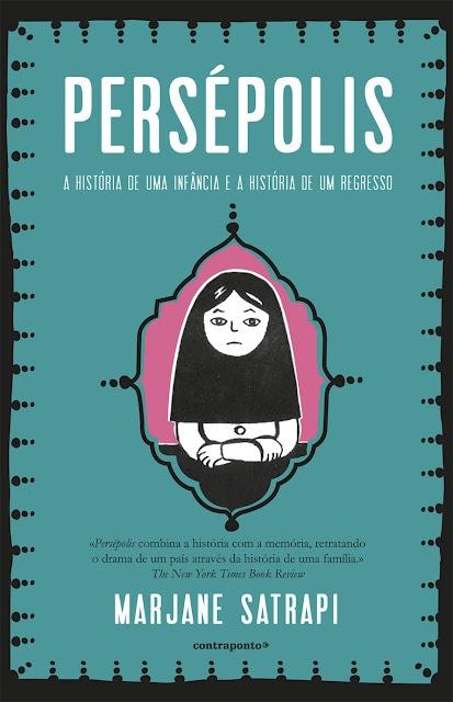 Persépolis: excelente graphic novel da iraniana Marjane Satrapi!